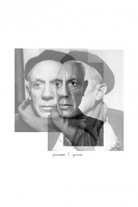 Yamisi - Picasso Poster 30X30Cm