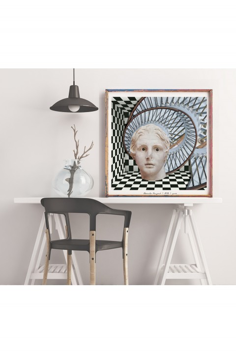 Yamisi Alexander The Great Poster 30X30Cm