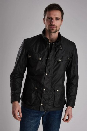 Barbour International - B.Intl Duke Yağlı Ceket SG91 Sage