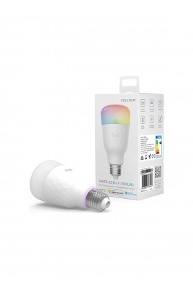 Xiaomi - Xiaomi Yeelight Wİ-Fi Akıllı Led Ampul E27 Rgbw Smart Led -Colorful Edition. 16M Renk