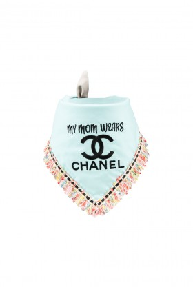 Fursatche - My Mom Wears Chanel Bandana