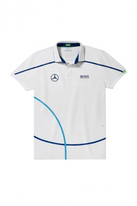 Mercedes-Benz - Polo Shirt Beyaz