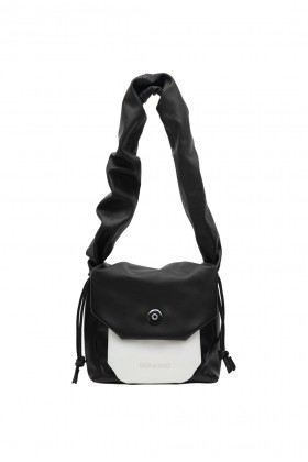 Bonabag - Shopper Black & White Omuz Çantası