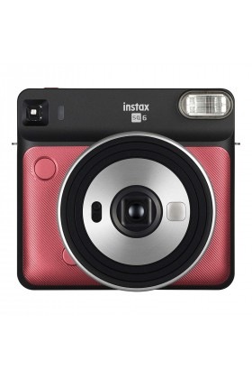 Fujifilm - Instax SQ 6 Ruby Red Fotoğraf Makinesi