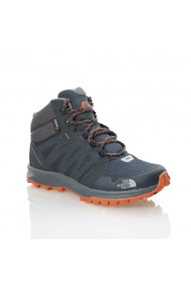 The North Face - LACİVERT Kadın Outdoor Bot T92Y8PZFZ W THE NORTH FACE LITEWAVE FP MD GTX URBAN NAVY/NASTRTIUM ORNG